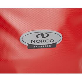 Norco Arkansas Bagagedrager Tas, rood/zwart